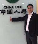 四川成都中国人寿保险保险代理人鲜小强