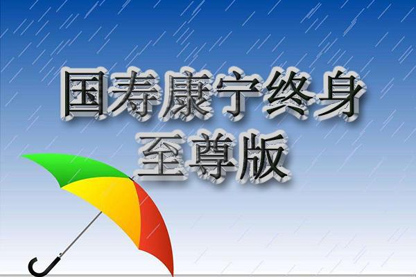 国寿康宁终身至尊版对比2012版 有什么亮点?