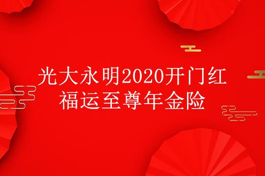 2020开门红:光大永明福运至尊有哪些亮点?为什么这么
