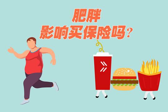 肥胖影响买保险吗?胖子...