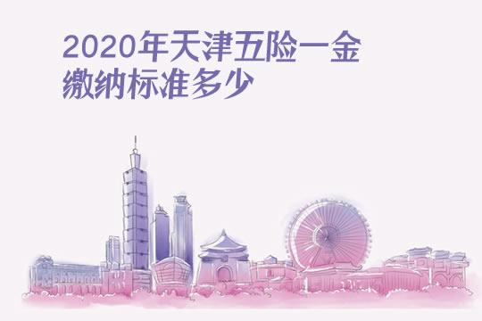 2020年天津五险一金缴纳比例(缴纳基数+缴费标准)