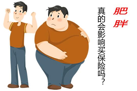 肥胖,影响买保险吗?