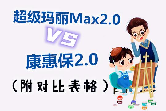 网红重疾哪家强?超级玛丽Max2.0和康惠保2.0有什么区别(附对比图)