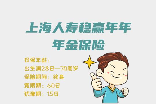 上海人寿稳赢年年年金保险值得买吗?有什么特色吗?