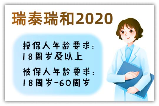 瑞泰瑞和2020投保规则介绍,适合哪些人投保?怎么样?