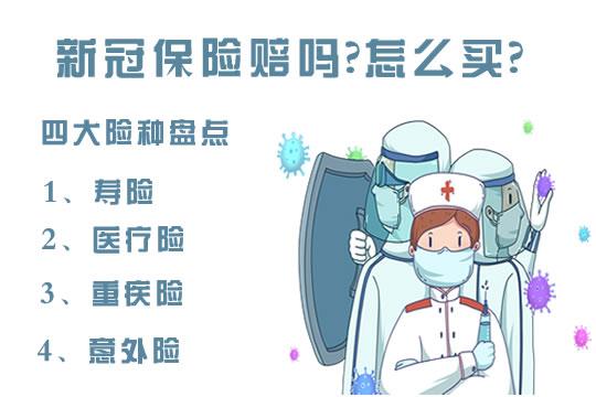 北京疫情防控最新政策!新冠保险赔吗?怎么买?4大险种盘点