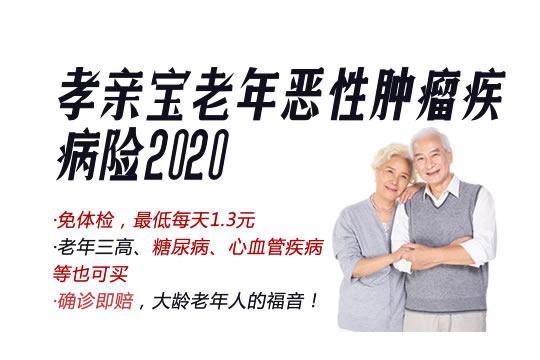 孝亲宝老年恶性肿瘤疾病险2020条款解析:多少钱?附费率表