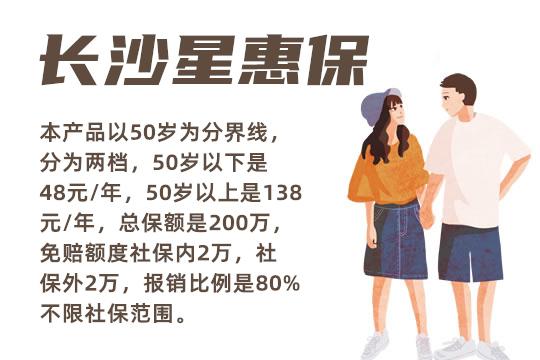 48元保200万的长沙星惠保是真的吗?值得买吗?优势分析