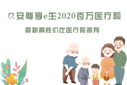 众安尊享e生2020怎么样?谁能买?百万医疗险哪款性价比最高?
