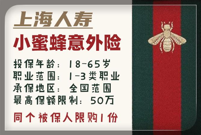 上海人寿小蜜蜂意外险怎么样?值得买吗?优点和缺点分析