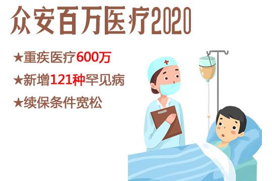 众安百万医疗2020怎么样?是骗人的吗?多少钱?附0-60岁费率表