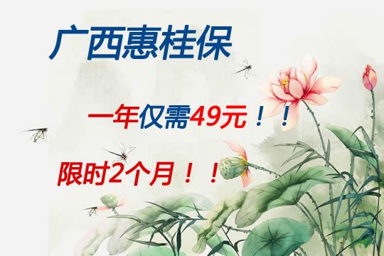 仅售2个月!广西惠桂保可信吗?亮点有哪些?附投保渠道
