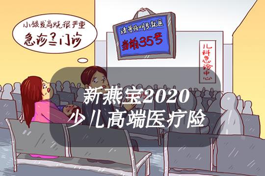 天安新燕宝2020少儿高端医疗险怎么样?保什么?优缺点?价格