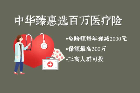 中华臻惠选百万医疗险是骗人的吗?保什么?三高人群能投保吗
