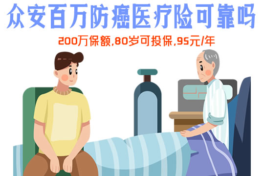 众安百万防癌医疗险多少钱一年?可靠吗?在哪买?怎么买?