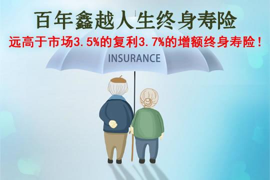 百年鑫越人生终身寿险怎么样?是什么保险公司?哪里监管?缺点