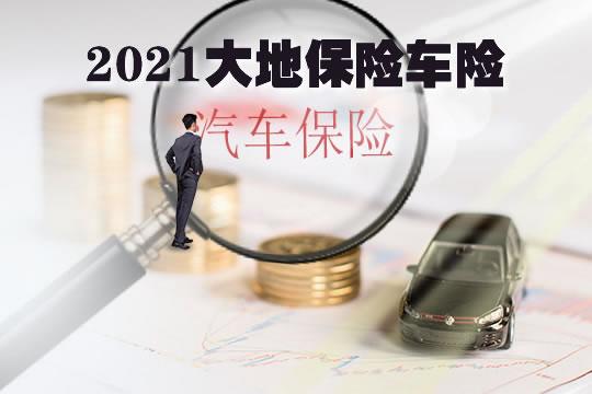 2021大地保险车险,大地保险车险