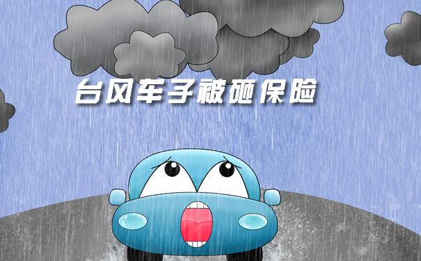 台风车子被砸保险、2021年台风造成车辆被砸保险