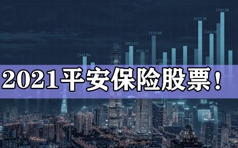 2021平安保险股票!平安保险股票