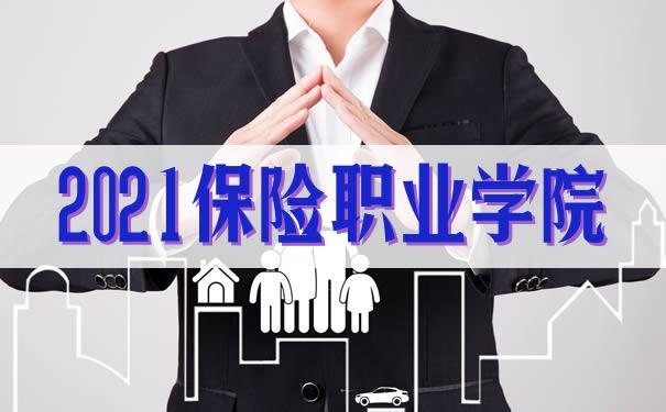 保险职业学院,2021保险职业学院