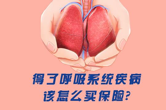 得了肺结核、哮喘等呼吸系统疾病,该怎么买保险?